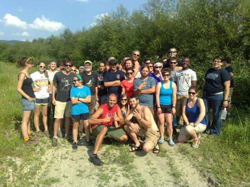 Studenci z Wisconsin z wizytą nad Rabą - KIK/37